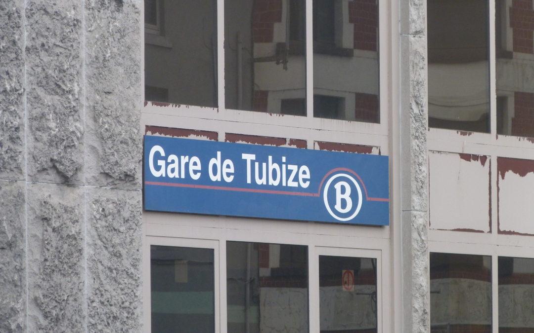 Question parlementaire de Marcel Cheron pour la gare de Tubize