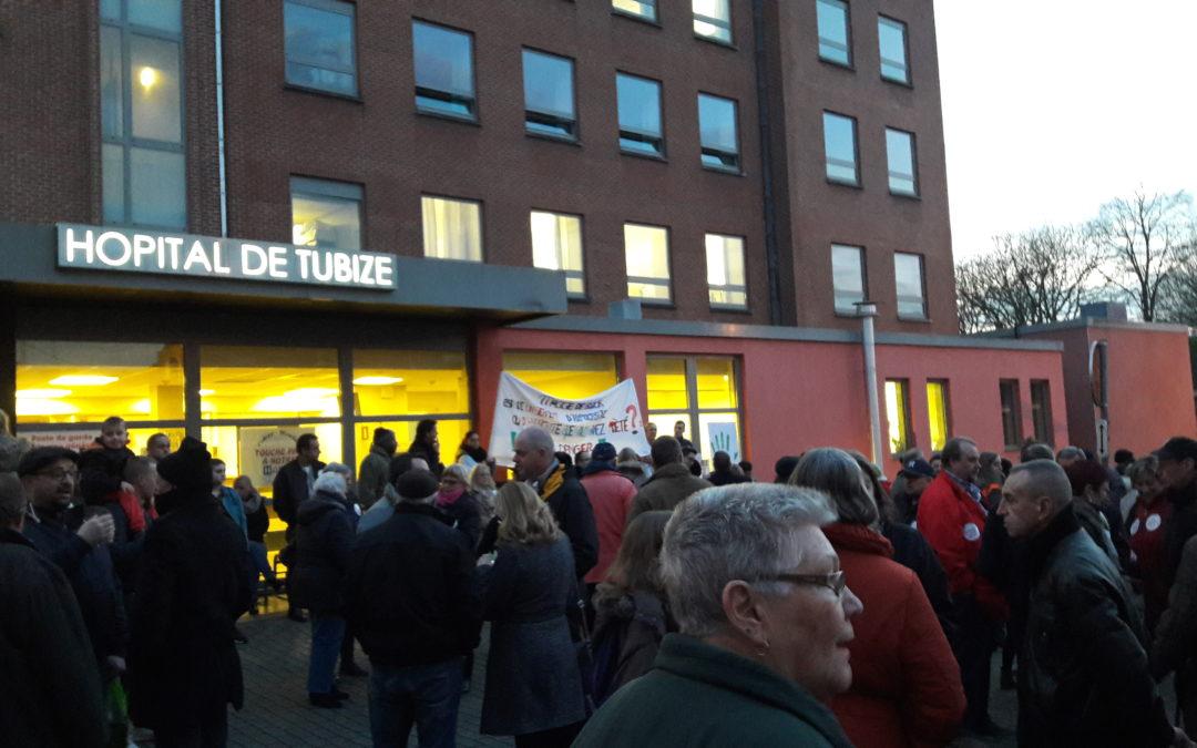 L'hôpital de Tubize vers une transformation vouée à l'échec
