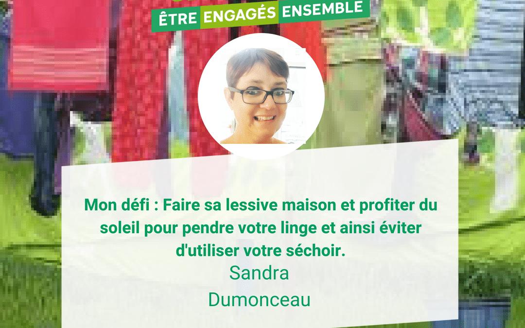 Sandra Dumonceau : Ma recette pour une lessive faite maison