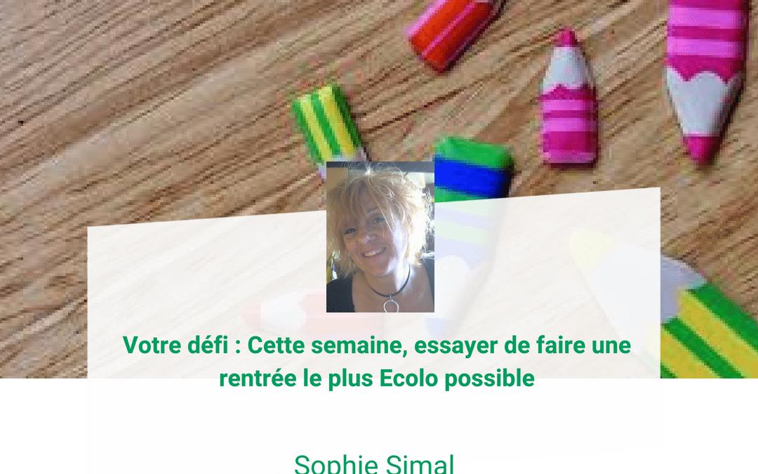 Sophie Simal : La rentrée de mes enfants en 6 étapes