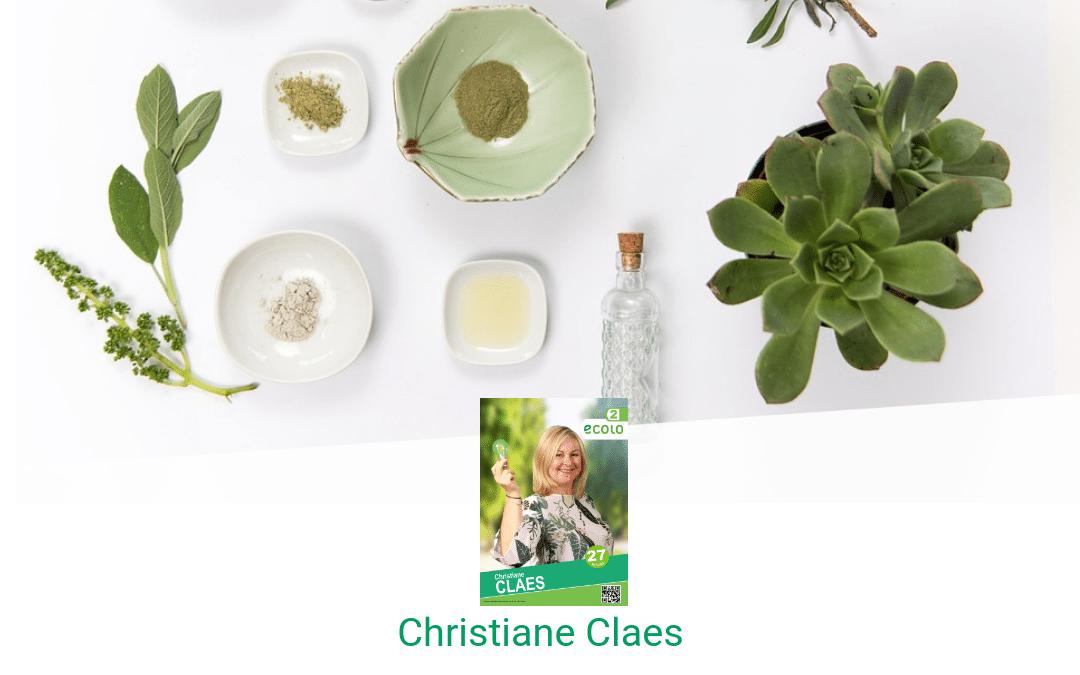 Christiane Claes : Créer vos cosmétiques maisons