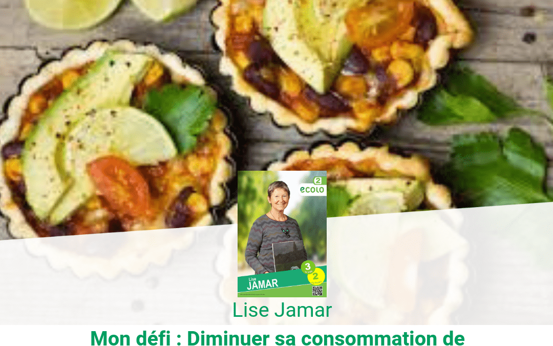 Lise Jamar : Mes 3 recettes végétariennes