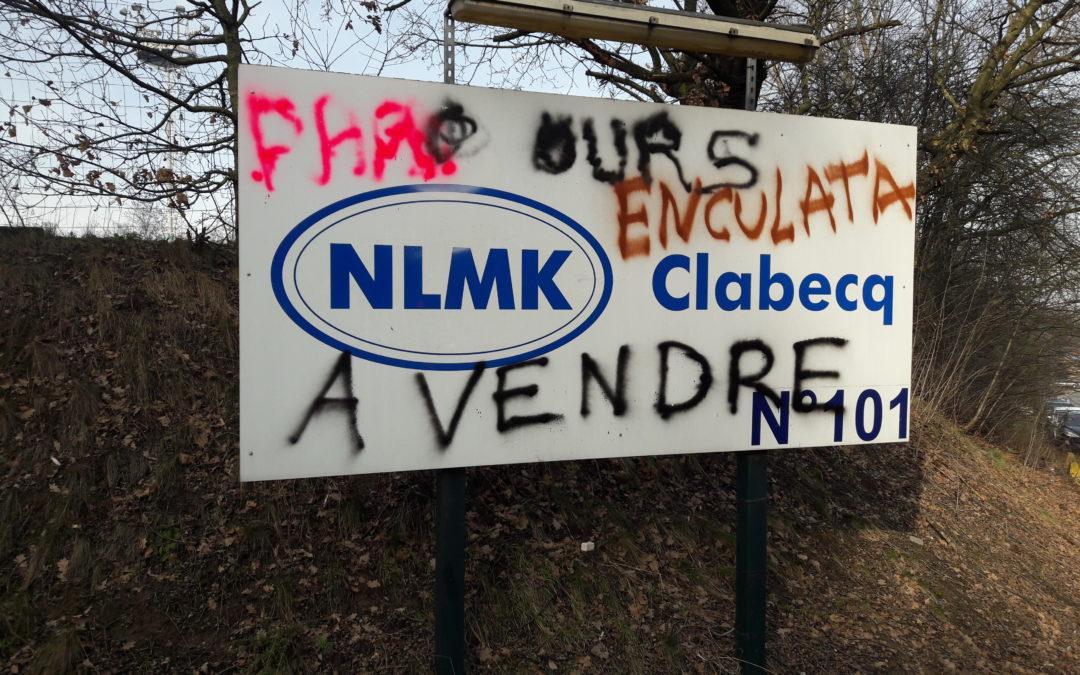 Intervention de Sophie Simal lors de la motion de soutien aux travailleurs de NLMK