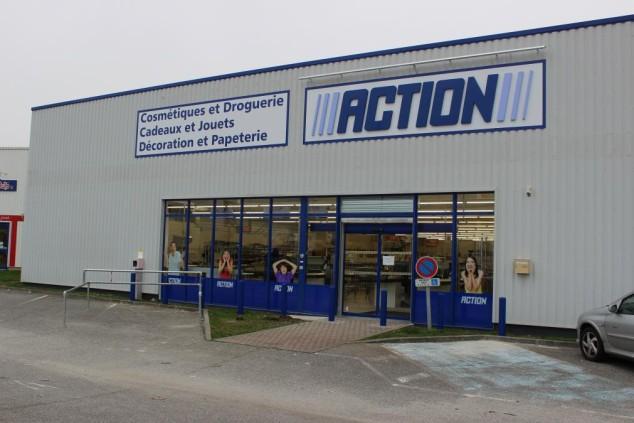 Ouverture du magasin Action