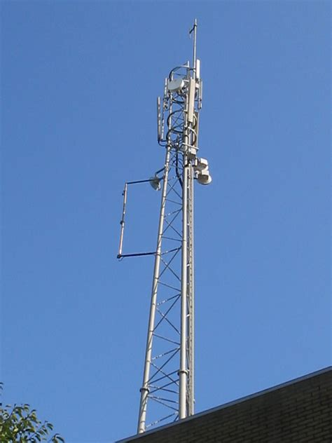 Antenne GSM rue d'Hennuyère à Tubize